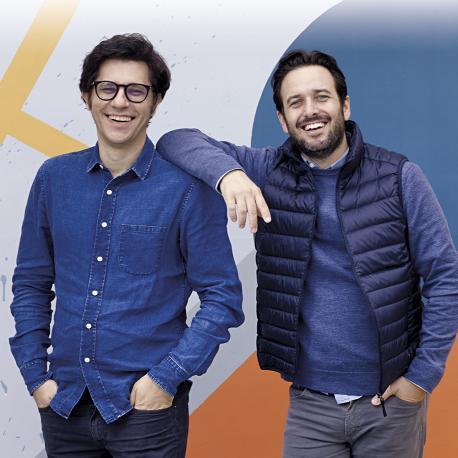 Martín Añazco y Diego Meller